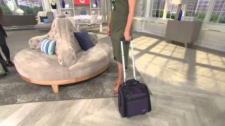 Travelon Wheeled Underseat Carry On Bag with Shawn Killinger