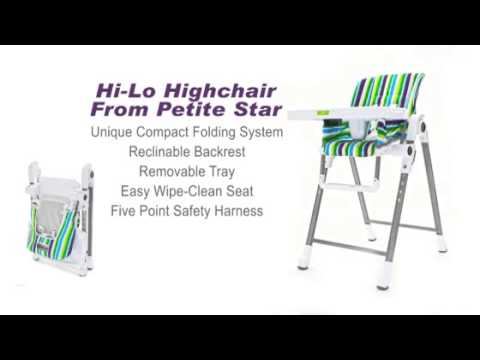 Petite Star Compact Hi-Lo High Chair