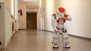 Robot NAO Beatbox (Робот Nao поёт и танцует битбокс)