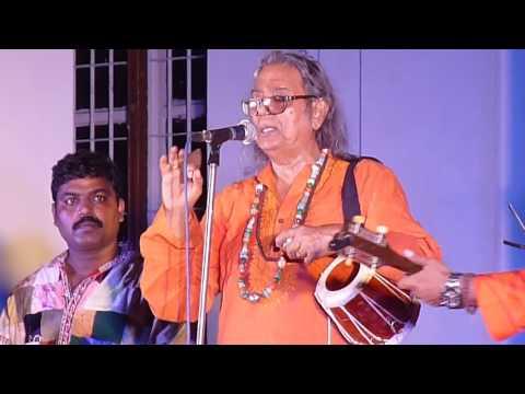 PURNA DAS BAUL LIVE 2016@INDIAN MUSEUM----MENOKA MATHAY DILO GHOMTA(JHUMUR)