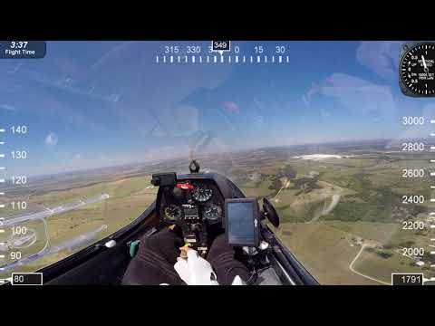 Sailplane Gliders Low altitude release.Can you make it back. What are you options? Roy Dawson video