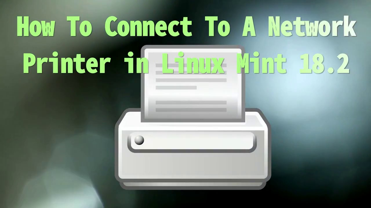 linux mint network printer detection