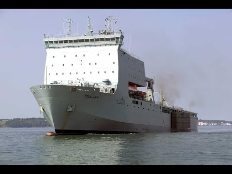 Come On Board The Royal Navy's Lifeline | Forces TV