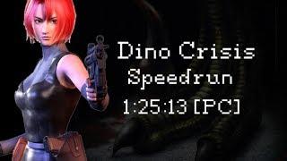 Dino Crisis speedrun (PC) Good Ending / IGT 1:25:13