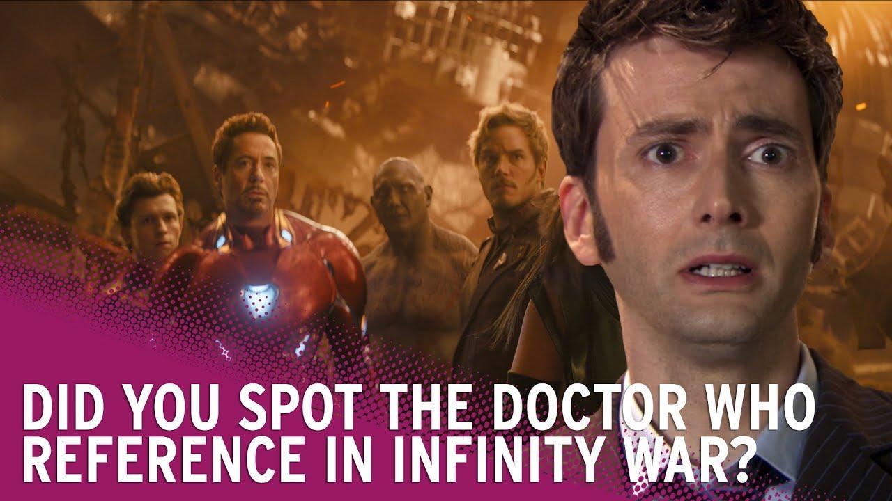 Avengers: Infinity War | did you spot David Tennant's Doctor