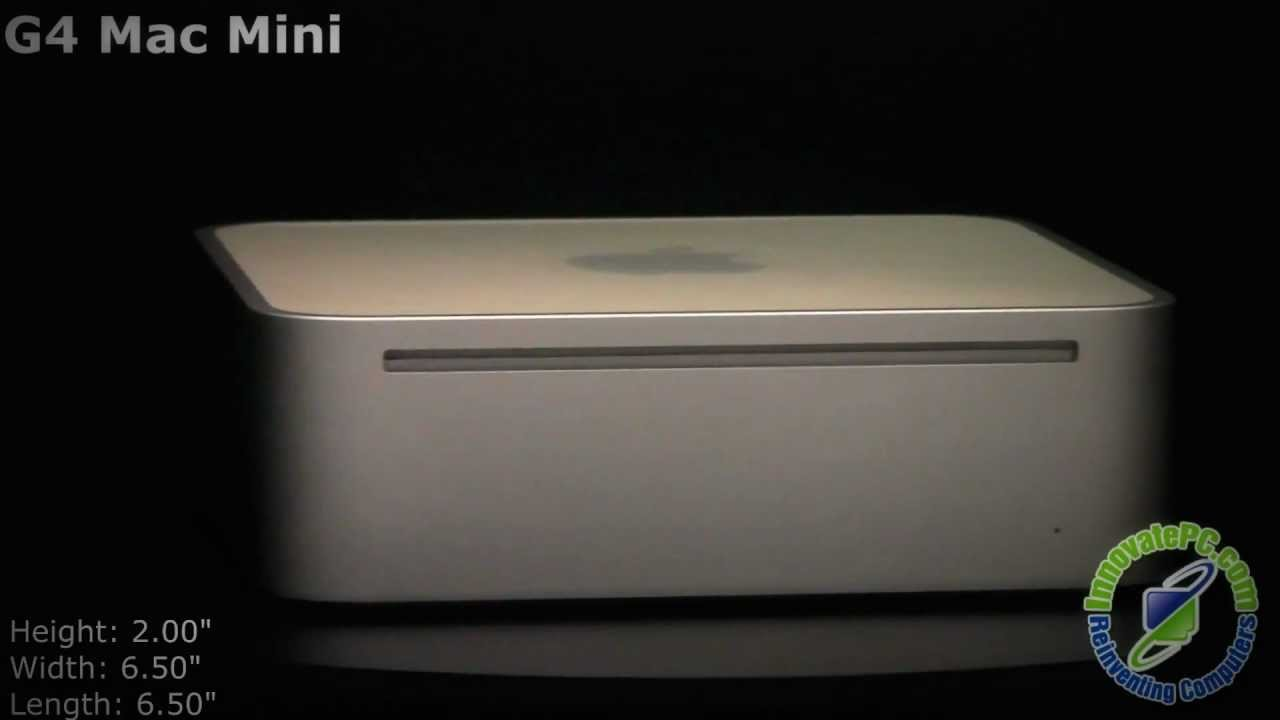 G4 Mac Mini - Refurbished - InnovatePC com