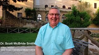 2019 Conero International Music Festival Interview-Dr. Scott McBride Smith