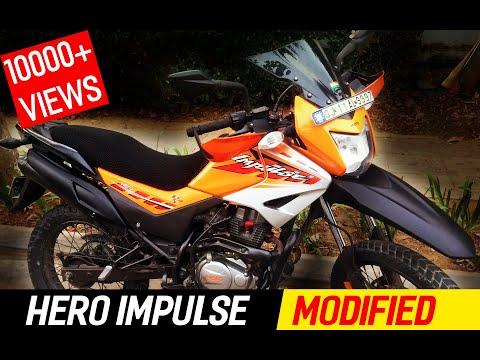Hero Impulse Modified - The Journey - Bangalore