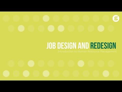 Job Design and