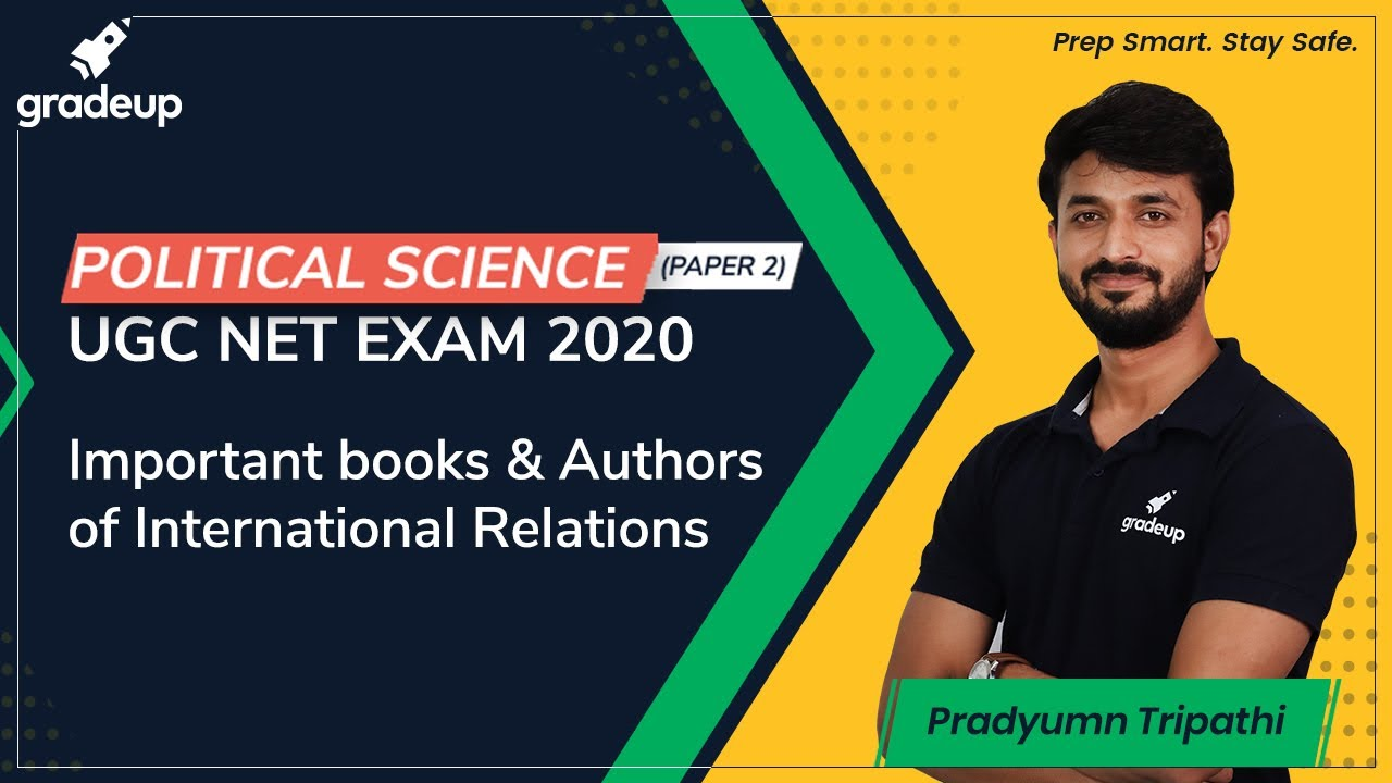 Political Science (Paper 2): Important books and Authors of International Relations   UGC NET   Grad