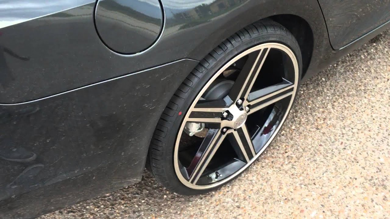 2015 Chevy Malibu Lt On 22 Iroc Rims Youtube