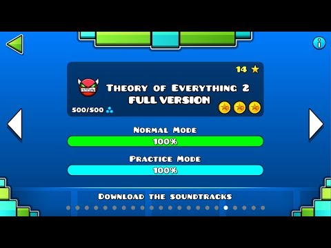 Geometry Dash - Theory Of Everything 2 FULL Version