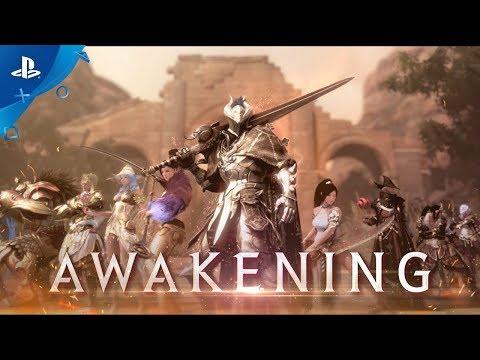 Black Desert - Awakening Announcement Trailer | PS4 - YouTube