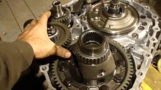 Как разобрать CVT вариатор NISSAN! 2006гв. How to disassemble CVT NISSAN!