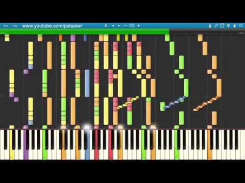 Doctor Who Main Theme Synthesia Piano Tutorial HD