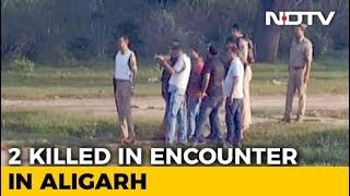 2 Shot Dead In UP Encounter On Camera, Cops Invited Journalists To Watch