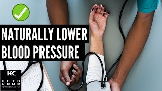 Blood Pressure \u0026 The Ketogenic Diet | How to Naturally Lower Blood