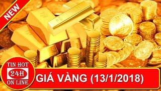 Giá vàng hôm nay ngày 13/1: Vàng Vọt lên mức cao nhất 4 tháng - Tin hot 24h online