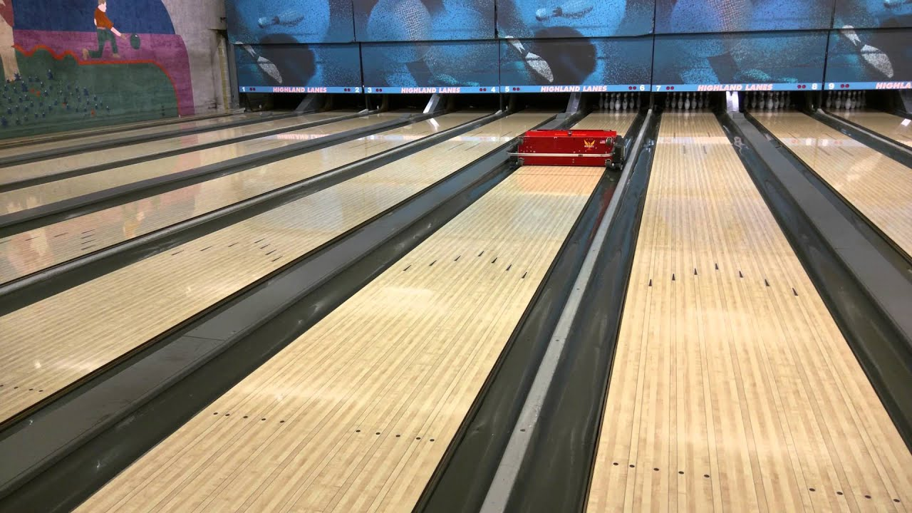 How bowling lanes get cleaned and oiled