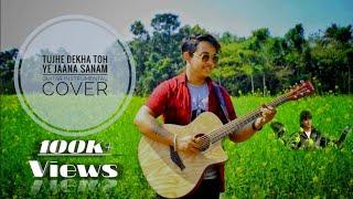 Tujhe Dekha Toh Ye Jaana Sanam | Guitar Instrumental Cover | Sourav Mitra