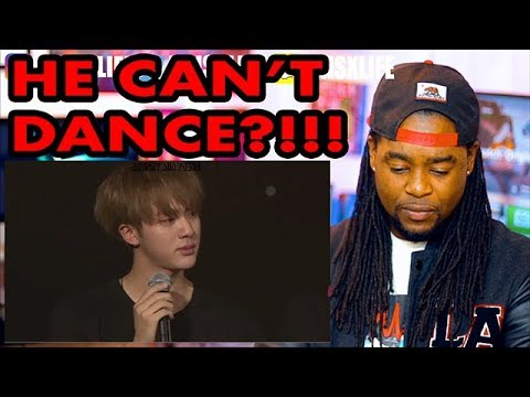 An Introduction to BTS: Jin Version | He Can't Dance?! | REACTION!!!