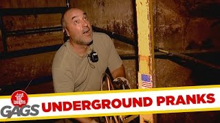 Pranking Under the Ground - Best of Just For Laughs Gags