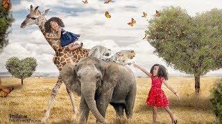 WE WENT TO AFRICA!! Girls dream came true.  Kenyan Korean family Vlog ep.196