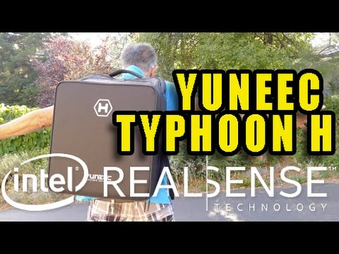 Yuneec Typhoon H Intel Real Sense Review - Demunseed