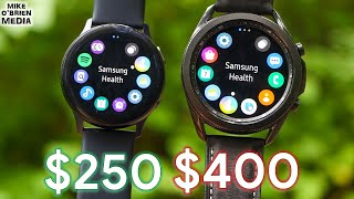 GALAXY WATCH 3 vs WATCH ACTIVE 2 by Samsung (Worth The Extra $150?)