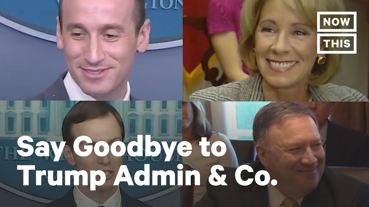 Trump's outgoing administration, in short