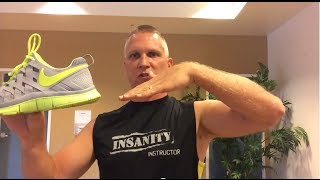 The best Shoes for Insanity, Crossfit, P90X3 - Nike Free 5.0 / 3.0 trainer, Reebok or Asics
