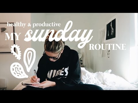 My Sunday Routine: Healthy & Productive | Margot Lee