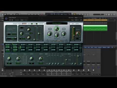 Convert Audio Drum Loop to MIDI - EXS24 Tricks - Logic Pro Tutorial