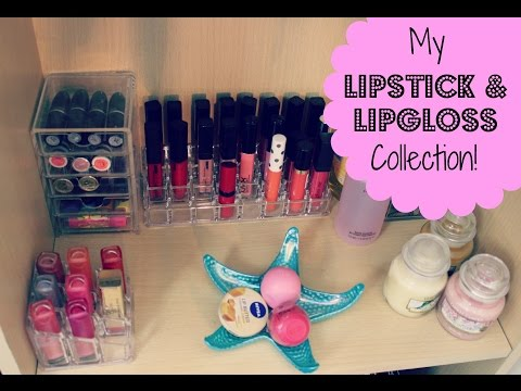 Lipgloss & Lipstick Collection 2014!