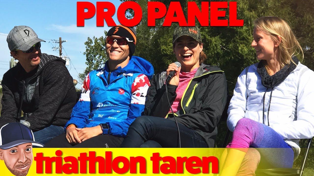 Half-Ironman Austin 70.3 2017 Day 4: Pro Race Panel - YouTube