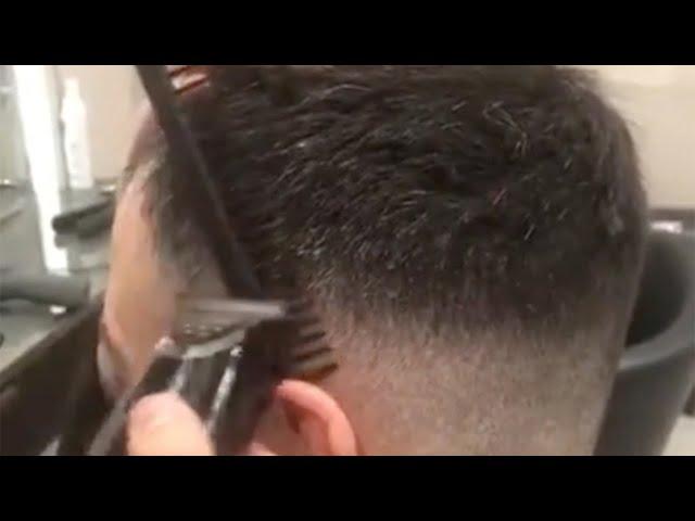 Gents cut by Stylist Jake from Jo Hansford