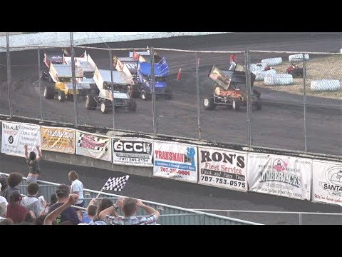 360 Sprints MAIN 7–15-17 Petaluma Speedway