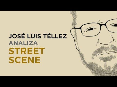 José Luis Téllez analiza 'Street Scene' | Teatro Real 200 años 17/18