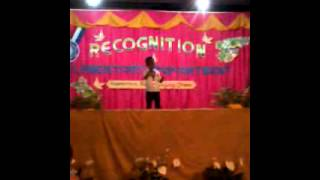 kerbee paul juatchon singing blessed hope christian school s recognition