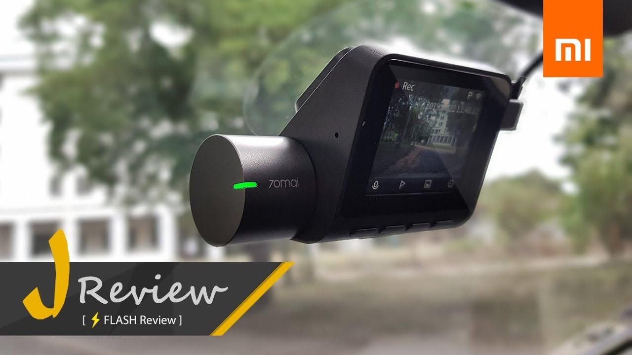 แกะกล่อง/รีวิว/วิธีติดตั้ง กล้องติดรถยนต์ Xiao Mi 70Mai Dash Cam Pro