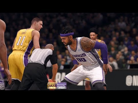 NBA Live 18 - Sacramento Kings vs Los Angeles Lakers - Gameplay (HD) [1080p60FPS]