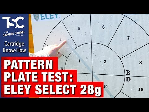 Pattern Plate Test: Eley Select 28g