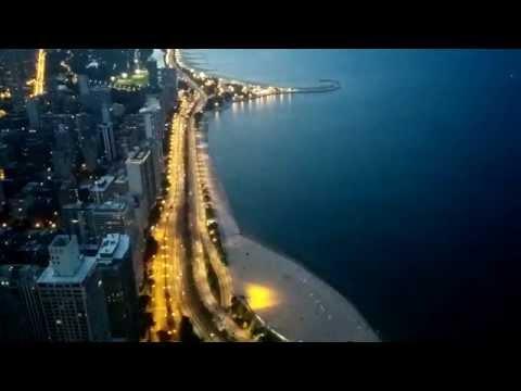 Time lapse Chicago - John Hancock Center