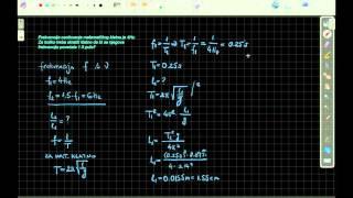 Matematicko klatno - zadatak