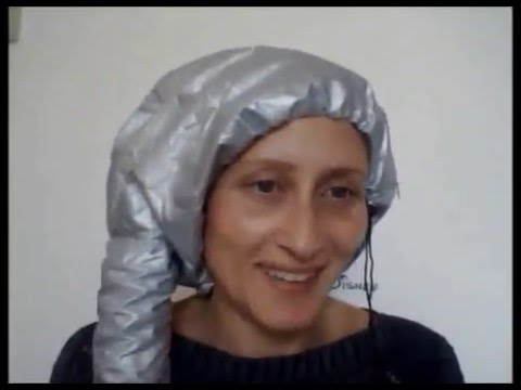 Cuffia asciugacapelli capelli ricci