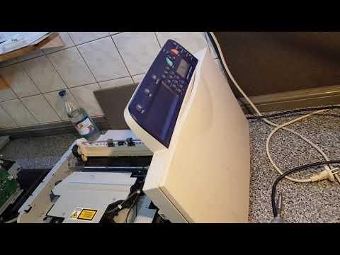 Xerox Phaser 3100MFP PRINTER ERROR HSYNC