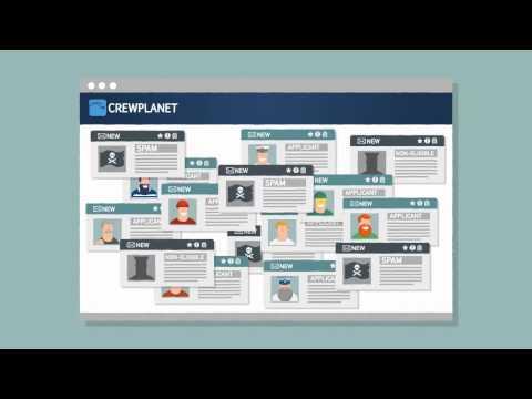 Реклама Crewplanet - публикация вакансий