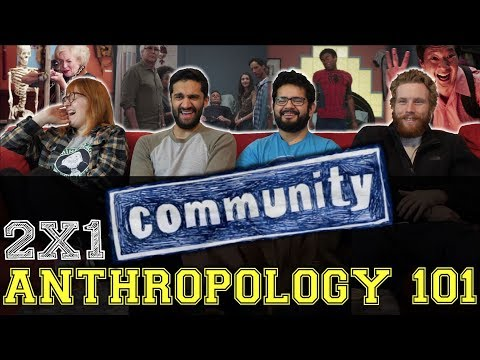 Community - 2x1 Anthropology 101 - Group Reaction