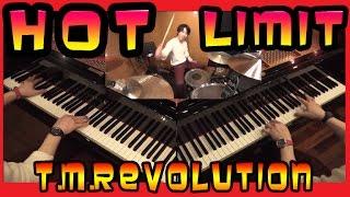 【一人二役】西川貴教さんの「HOT LIMIT」をピアノとドラムで弾かせて頂...