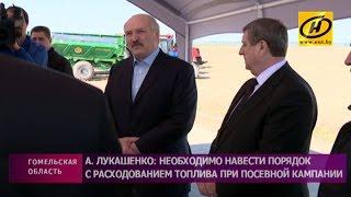 Рабочая поездка Президента Беларуси в Гомельскую область
